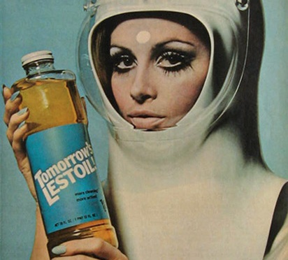 Update: Hilarious 1960s/1950s sci-fi themed ads