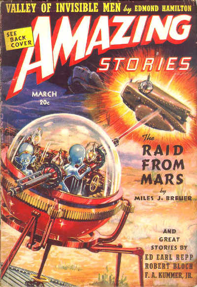 Amazing Stories Volume 21 Number 06: Adventures In Science Fiction Cover Art: Spherical