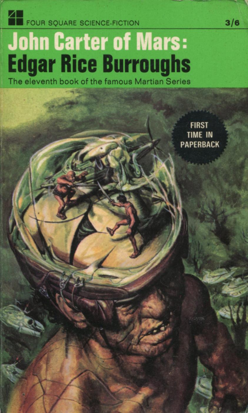 John Carter Book Cover Art ~ Adventures in science fiction cover art inside the skull