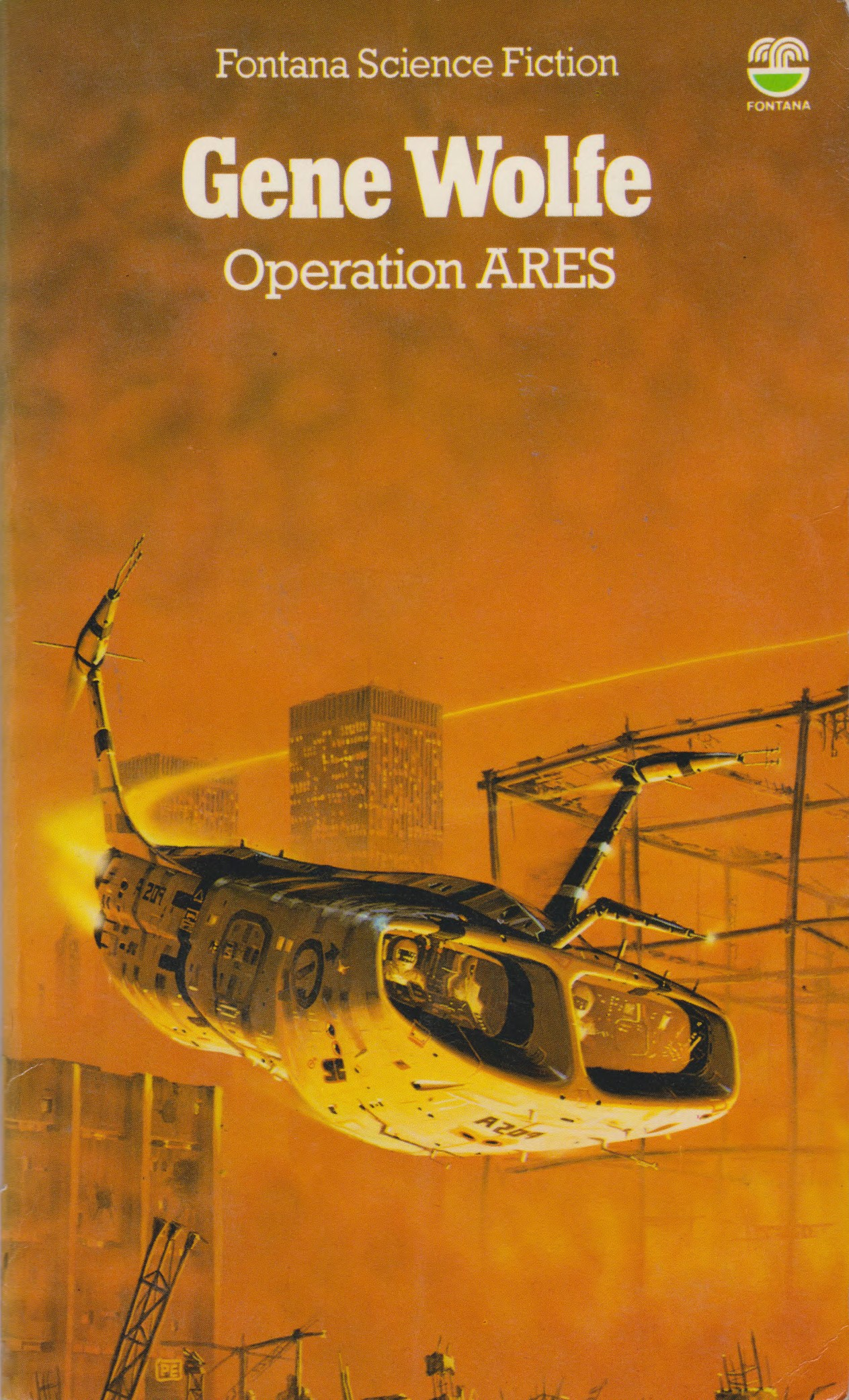 gene wolfe, operation ares