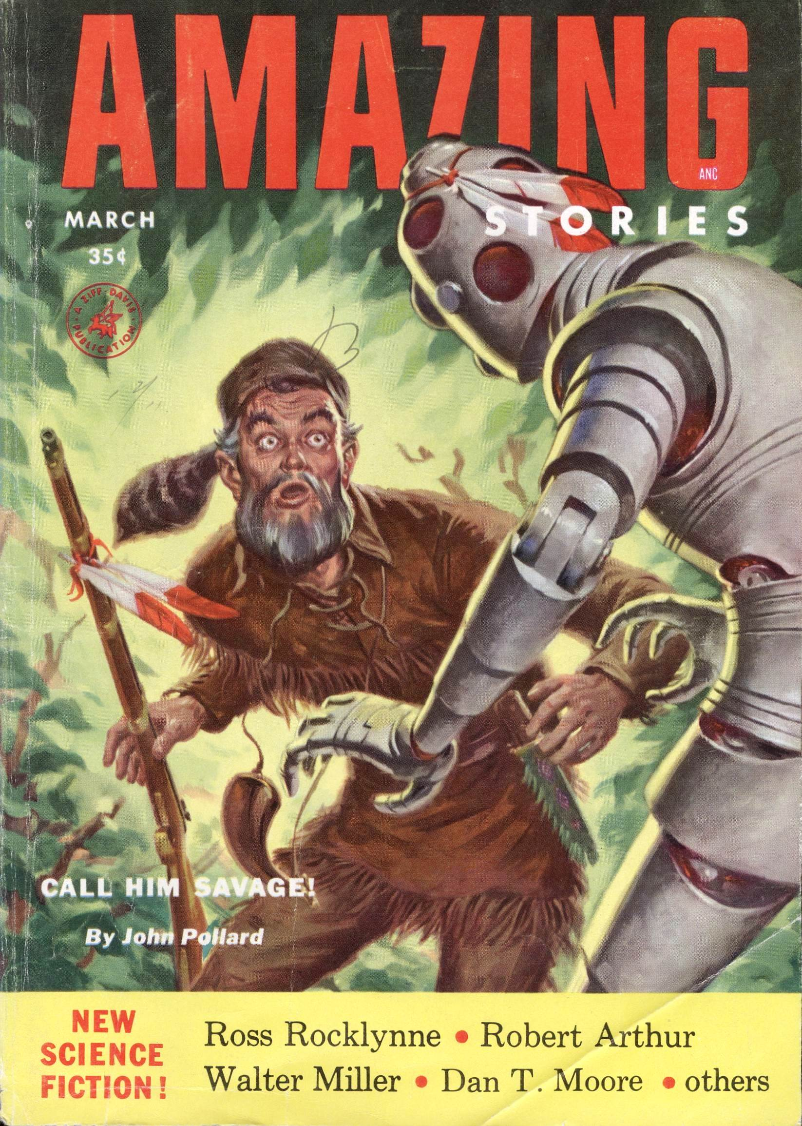 Amazing Stories, March 1954